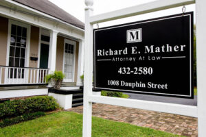 Richard E. Mather Attorney At Law Tillmans Corner Alabama