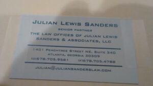 The Law Offices of Julian Lewis Sanders & Associates