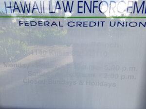 Hawaii Law Enforcement FCU Waipahu Hawaii